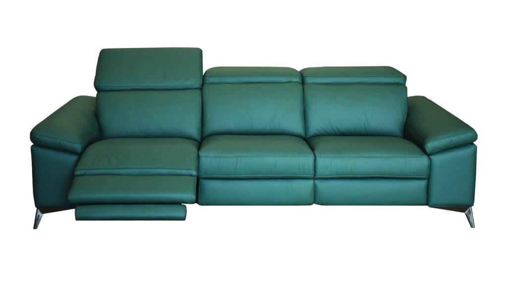 divano relax in pelle