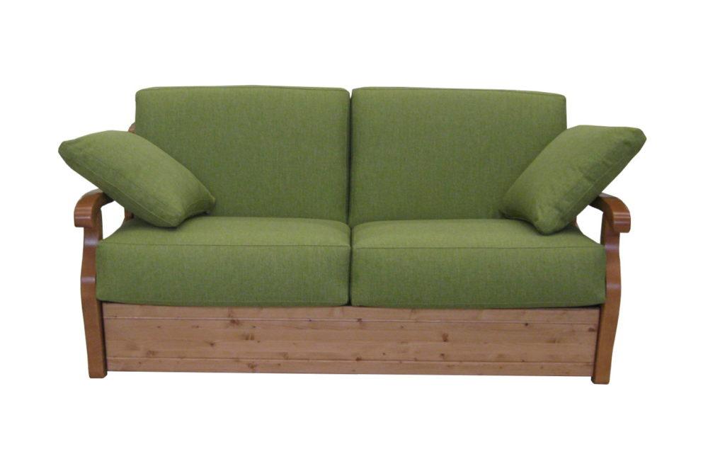 divano rustico Lugano
