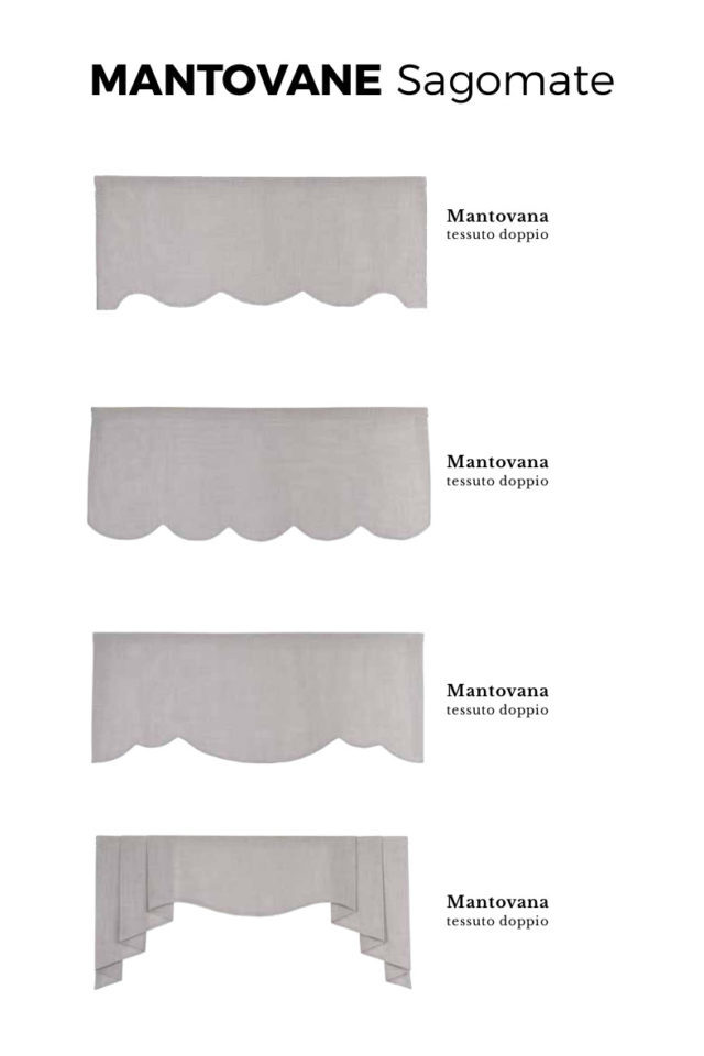 Mantovane per tende