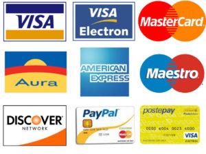 Divani e mobili acquistati con carte di credito