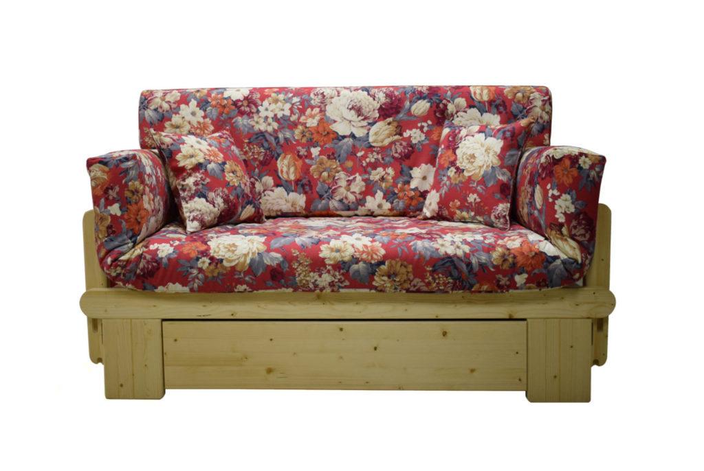 Divano rustico letto
