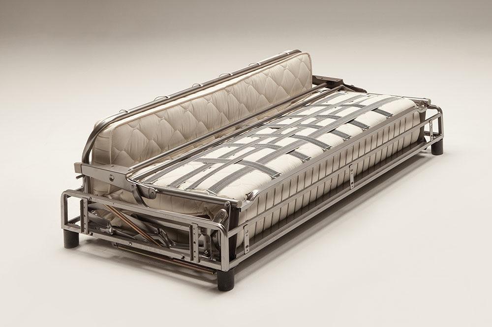 Meccanismo per divano letto con materasso altezza cm 18
