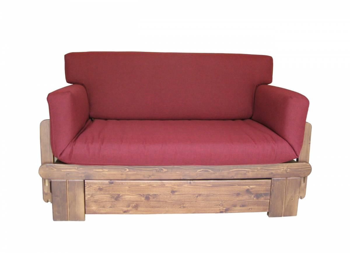 Letto rustico divano letto rustico with letto rustico - Divano letto rustico ...